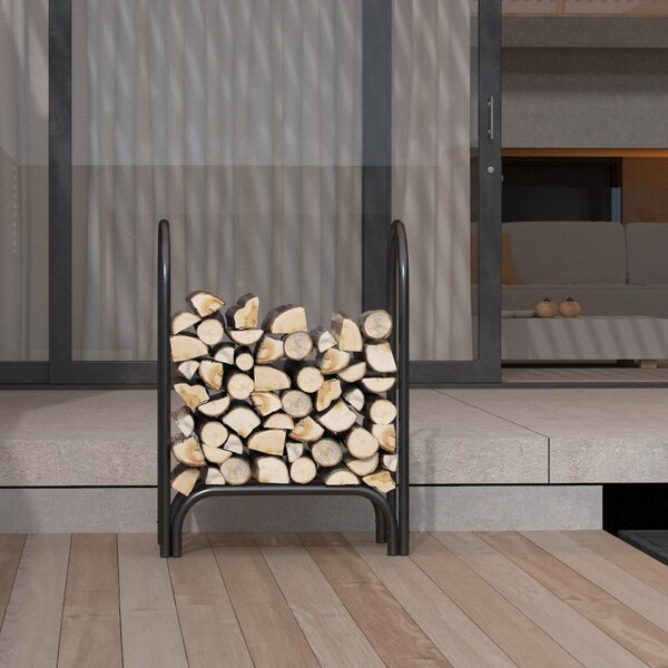 Indoor/Outdoor Firewood Shelter Log Rack by Regal Flame