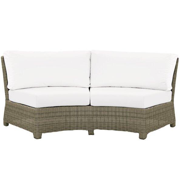 Demetra Sofa with Cushion by Highland Dunes