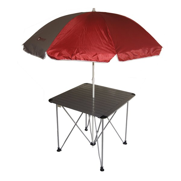 Picnic Table with Umbrella by ORE Furniture