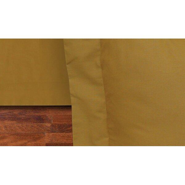 Rodrigo 135 Thread Count Bed Skirt by Loon Peak