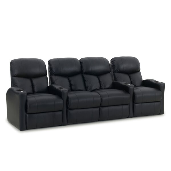 Center Loveseat Home Theater Row Seating (Row Of 4) By Latitude Run