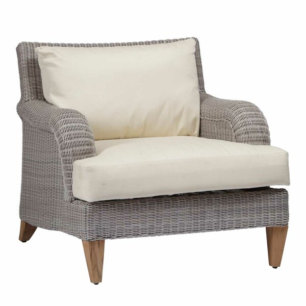 London Patio Chair with Cushions by Summer Classics