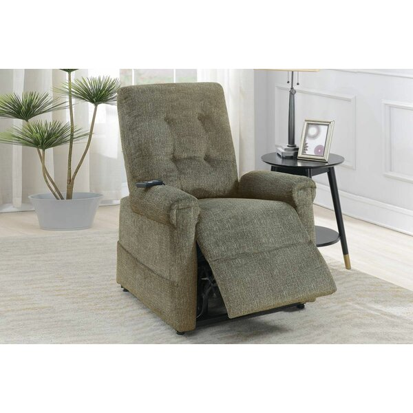 Best Price Jevan Lift Power Push Button Recliner
