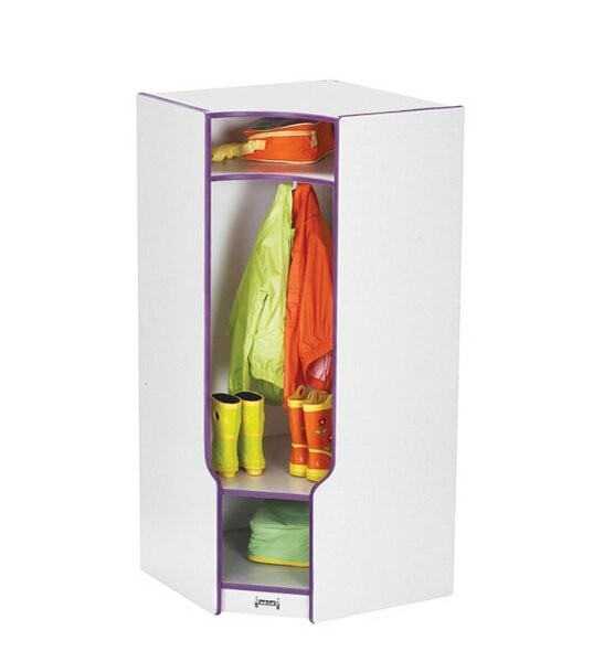 Rainbow Accents® 1 Section Corner Coat Locker by Jonti-Craft