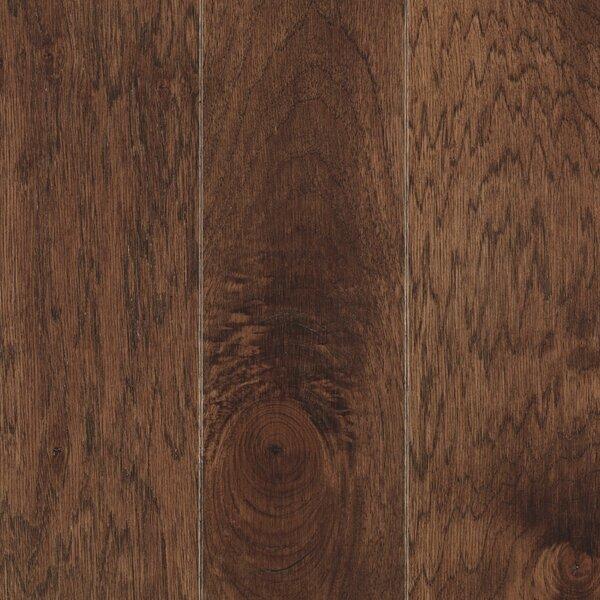 La Grotta 5 Engineered Hickory Hardwood Flooring in Truffle by Mohawk Flooring