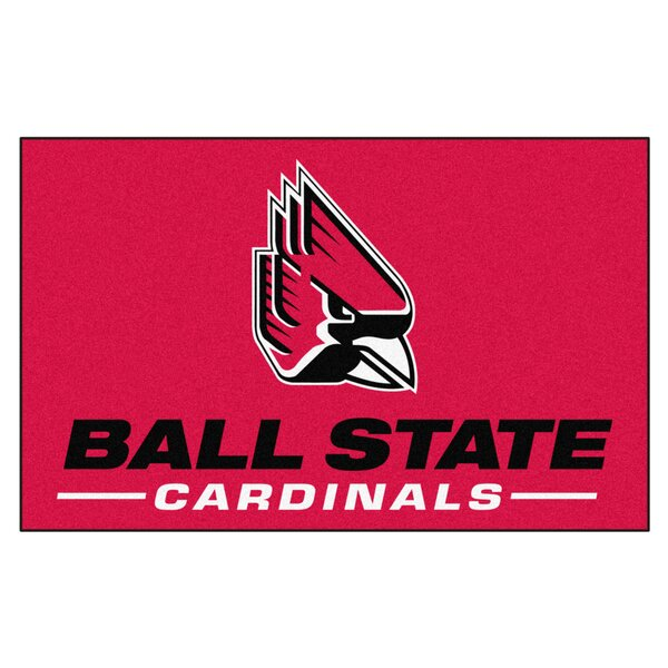Collegiate NCAA Ball State University Doormat by FANMATS