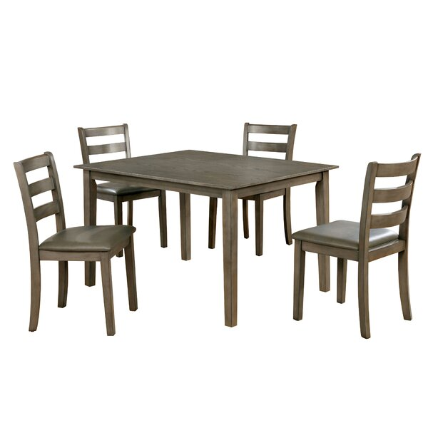 Trystan 5 Piece Dining Set by Millwood Pines