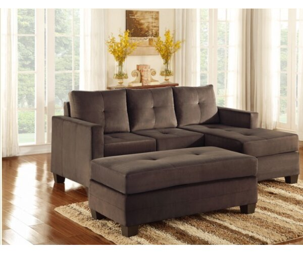 New Look Collection St Catherine Reversible Sectional Hot Bargains! 40% Off