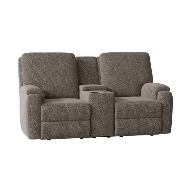 Podrick Console Reclining Loveseat By Wayfair Custom Upholstery™