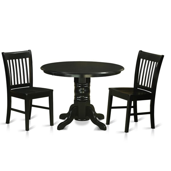 Sherlock 3 Piece Breakfast Nook Dining Set by August Grove