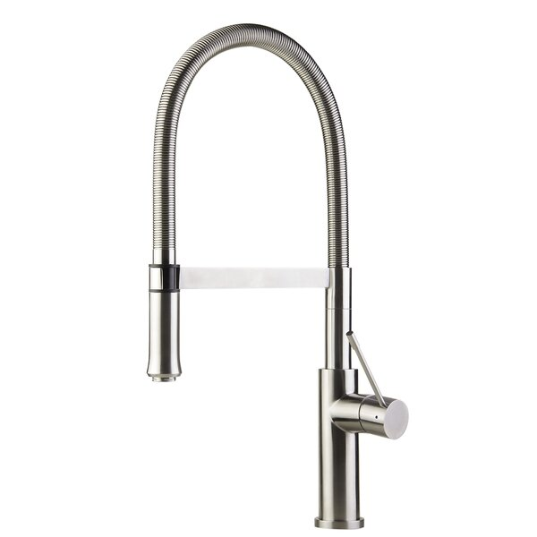 Single Handle Pull Down Kitchen Faucet by Alfi Brand