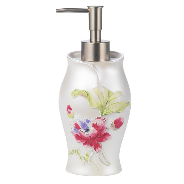 Flower Haven Soap & Lotion Dispenser by Sweet Home Collection