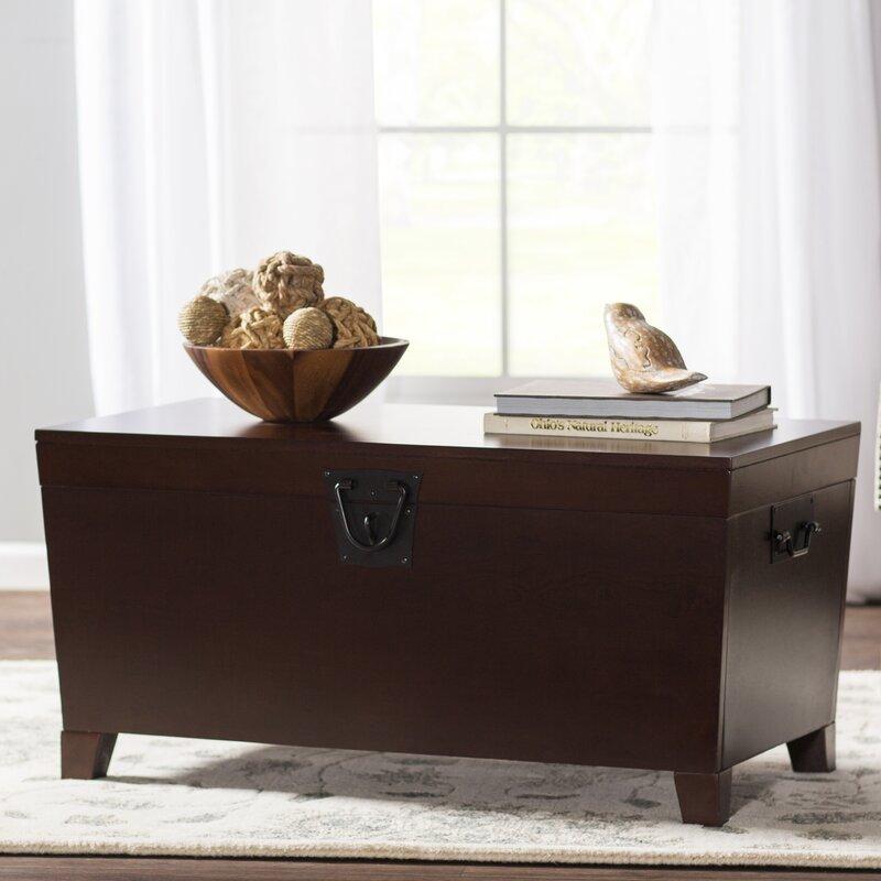 Charlton Home Bischoptree Storage Trunk Coffee Table Reviews Wayfair