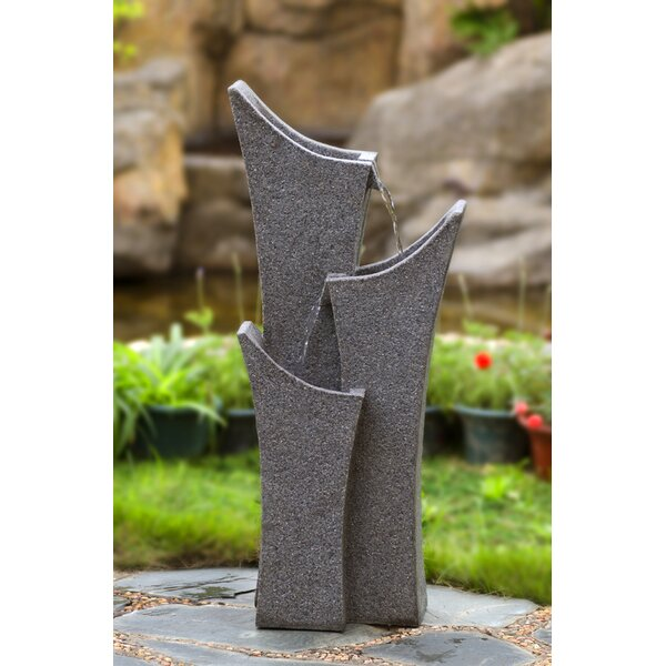 Resin/Fiberglass Water Fountain by Jeco Inc.