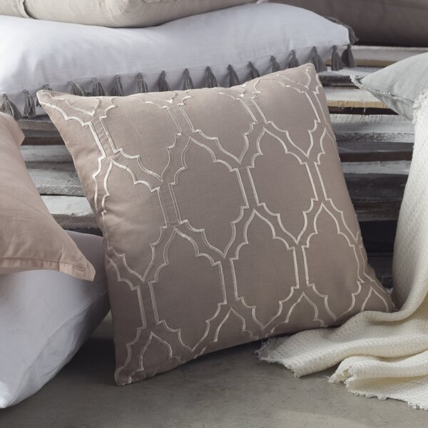 Lacey Linen Pillow Cover by Birch Lane™