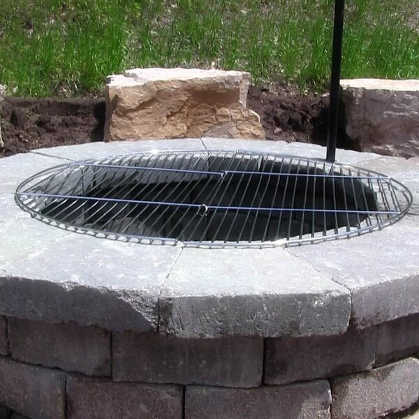 Jericho Foldable Cooking Fire Pit Grate by Freeport Park
