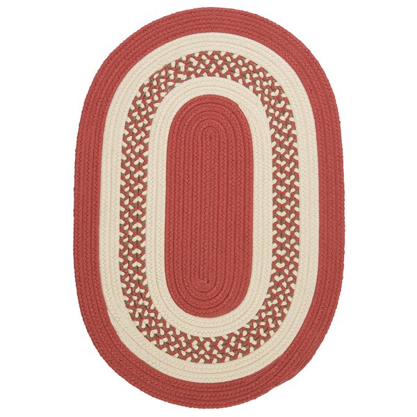Rockport Terracotta Indoor/Outdoor Rug by Bay Isle Home