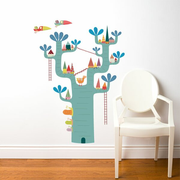 Piccolo Village in The Tree Wall Decal by ADZif