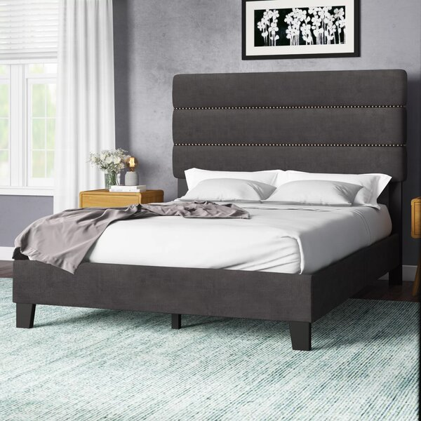 Trappe Queen Upholstered Standard Bed by Brayden Studio