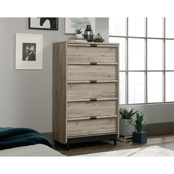 Celis 5 Drawer Standard Chest by Foundry Select