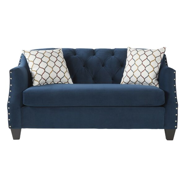 A Wide Selection Of Bostick Loveseat by House of Hampton by House of Hampton