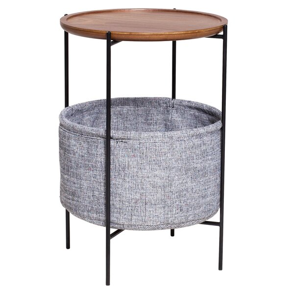 Jada End Table with Storage by Modern Rustic Interiors