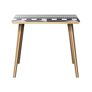 Hornback End Table by Bungalow Rose