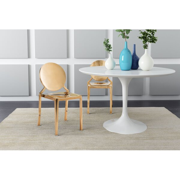 Leela Metal Side Dining Chair (Set of 2) by Willa Arlo Interiors Willa Arlo Interiors