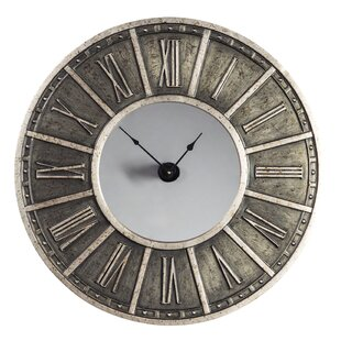 oversized whipley 31 wall clock - Mirrored Wall Clock