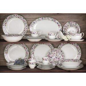 bloomsbury floral 35 piece dinnerware set - Dishware Sets