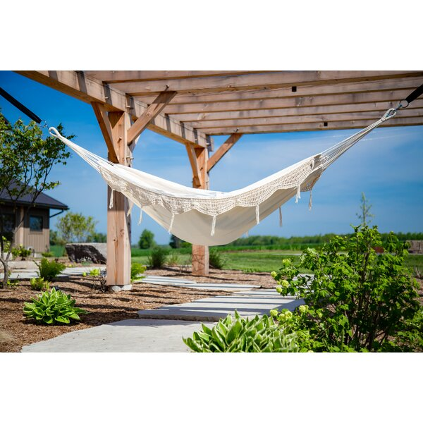 Banach Double Tree Hammock by Bungalow Rose