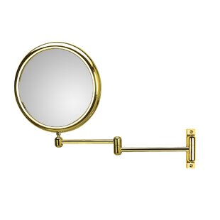 Doppiolo Double Arm 3X Magnifying Makeup / Shaving Mirror ByWS Bath Collections