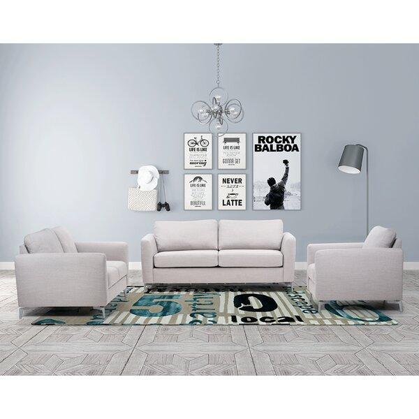 Borough Hall Sleeper 3 Piece Living Room Set by Brayden Studio
