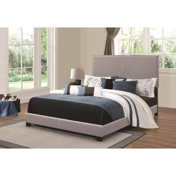 Kenworthy Upholstered Sleigh Bed Charlton Home BNZB1439
