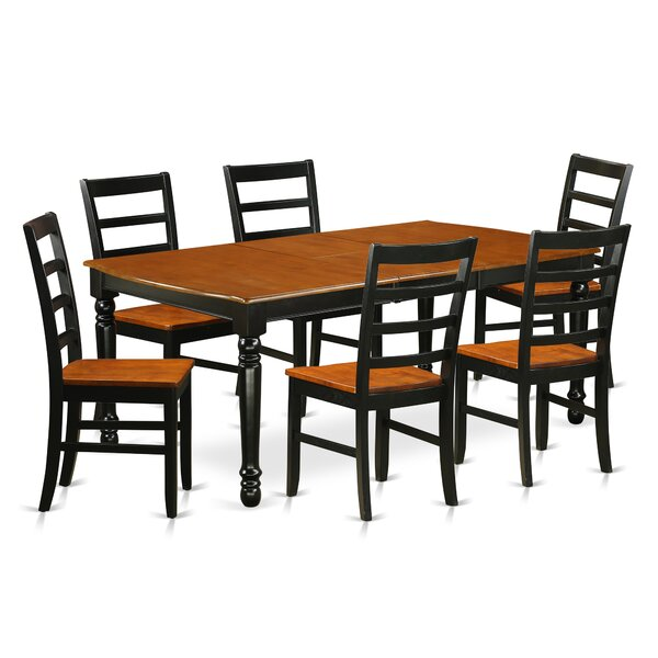 Pimentel 7 Piece Solid Wood Dining Set By August Grove Looking for