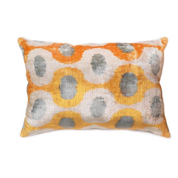 Ikat Lumbar Pillow by Pasargad