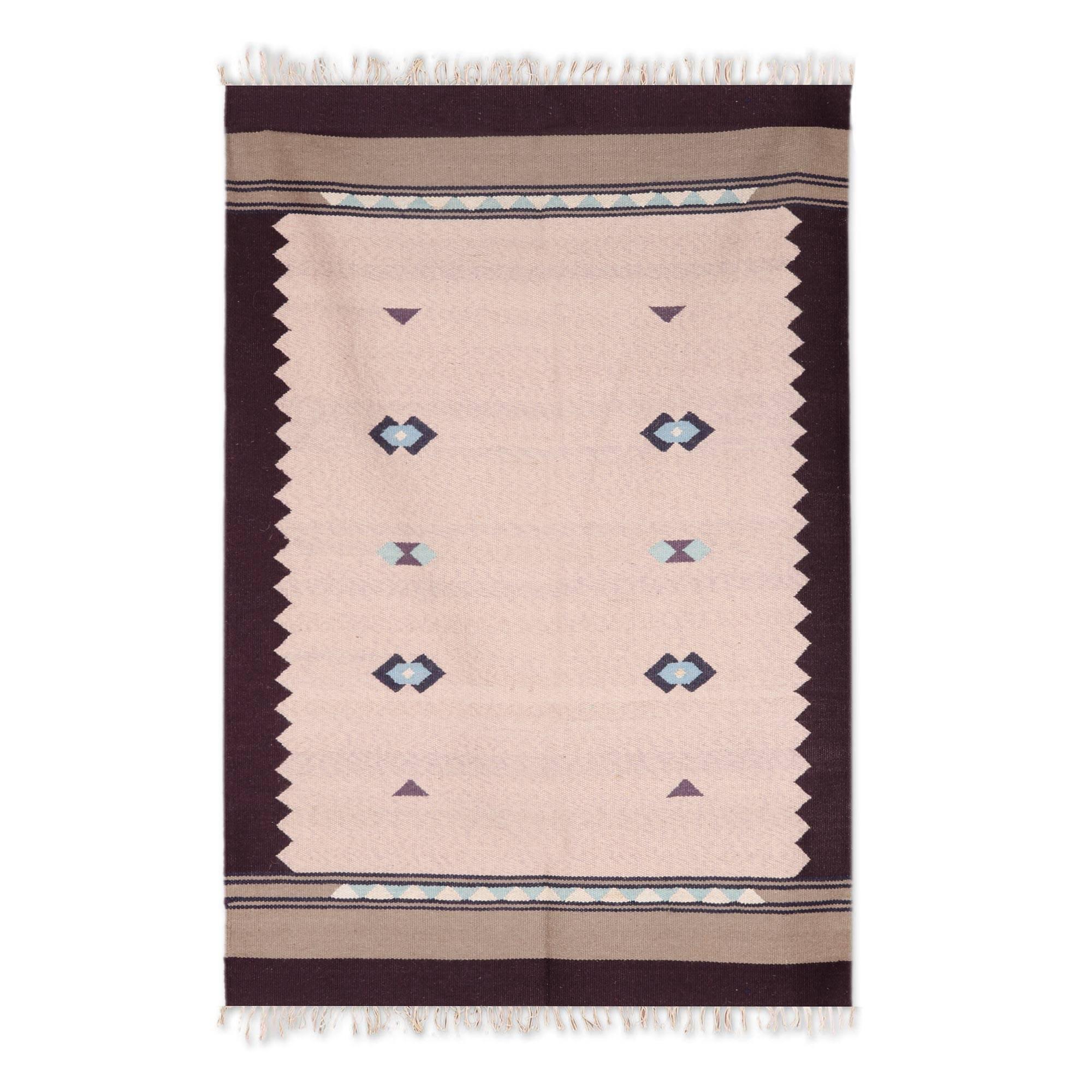 Union Rustic Mandy Southwestern Handmade Kilim Wool Beige Rug Wayfair
