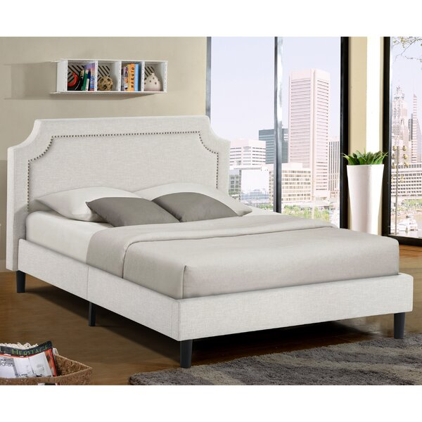 Jonathon Queen Upholstered Platform Bed by Charlton Home
