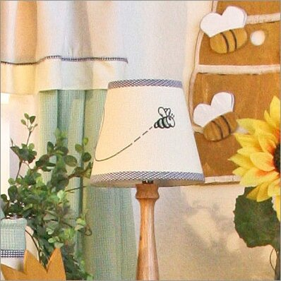 Bee 8 Cotton Empire Lamp Shade by Brandee Danielle