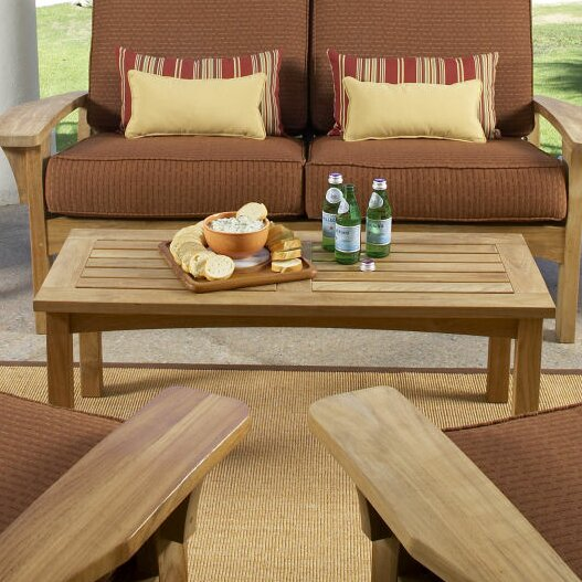 Saybrooke Teak Coffee Table by Douglas Nance