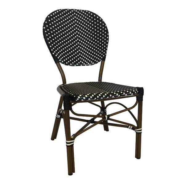 Stacking Patio Dining Chair by String Light Company