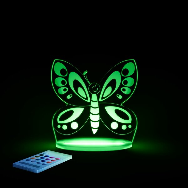 Aloka Butterfly Night Light by Lumenico