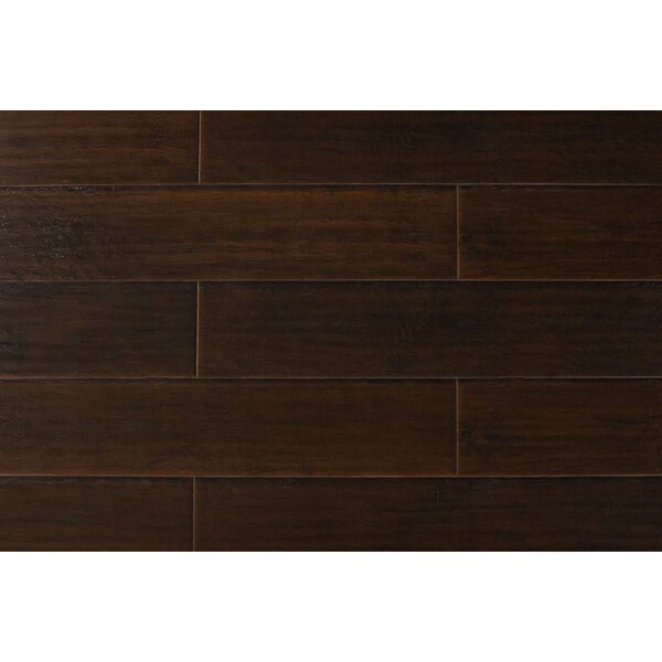 Kymani 7 x 48 x 12mm Hickory Laminate Flooring in Dark Ebony by Serradon