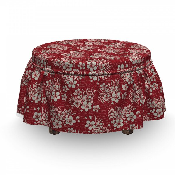 Bale Of Hay Ottoman Slipcover (Set Of 2) By East Urban Home