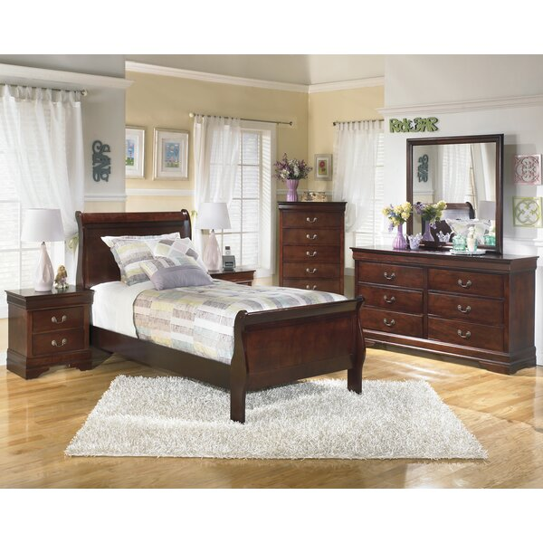 Dwyer Platform Configurable Bedroom Set by Three Posts