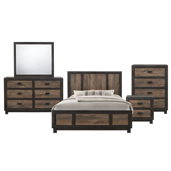 Llewellyn Panel 5 Piece Bedroom Set by Gracie Oaks