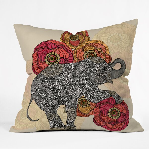 Valentina Ramos Rosebud Throw Pillow by Deny Designs