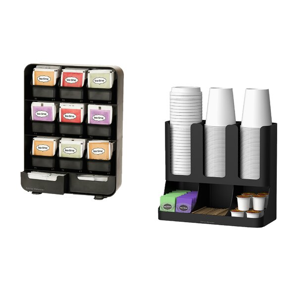 Tea and Coffee Accessory Condiment Organizer by Mind Reader