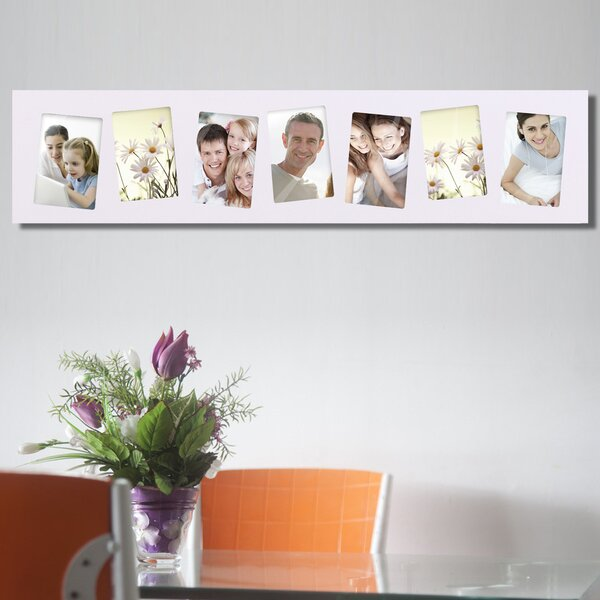 7 Opening Decorative Wall Hanging Picture Frame by Adeco Trading
