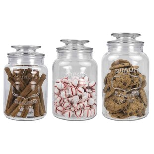 Clear Glass Kitchen Canisters Jars You Ll Love Wayfair